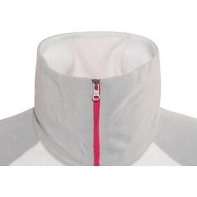Columbia Glacial Fleece III - Sudadera con capucha Mujer - gris/blanco